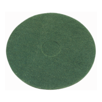 17 Inch (432mm) Green Floor Pads