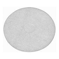 17 Inch (432mm) White Floor Pads