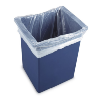 Swing Bin Liners - 45L - Light Duty - Box 1000