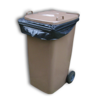 Light Duty Black Wheelie Bin Sacks - Box 100