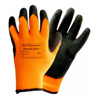 Jefferson Orange Thermal Glove L