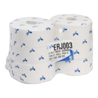 Esfina Recycled Jumbo Toilet Rolls 60mm Core 2-Ply 300M