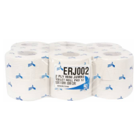 Esfina Recycled Mini Jumbo Toilet Rolls 80mm Core  2-Ply 150M