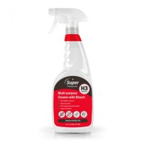Super Professional H3 Multi-Purpose Cleaner With Bleach 750ml