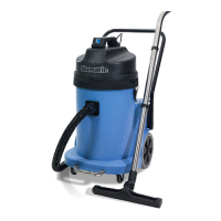 Numatic CTD 900 240V 4 in 1 Spray Extraction Cleaner