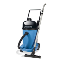 Numatic WV 470 Wet or Dry Vacuum Cleaner