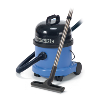 Numatic WV 370 Wet or Dry Vacuum Cleaner