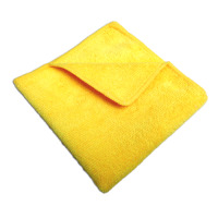 Contract Microfibre Cloths - Yellow - Pack 10