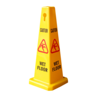Dual Warning Floor Cone - Large