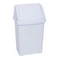 50L Work Place Bin (White)