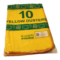 Yellow Duster - Standard - 500 x 500mm - Pack 10