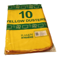 Yellow Duster - Standard - 500 x 340mm - Pack 10