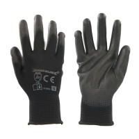 Black Palm Gloves M - Pair
